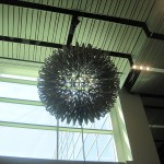 Hoberman Orb in Lobby