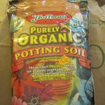 A small bag of potting soil