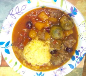 Red Wine Braised Beef & Polenta